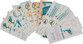 Football Collectibles:Tickets, 1970's-90's Miami Dolphins Fulls and Ticket Stubs Lot of 100+ - With Many Playoff Game Examples!...