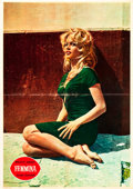 "Movie Posters:Bad Girl, A Woman Like Satan (Dear Film, 1959). Italian Foglio (27.5"" X39"").. ..."