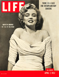 "Marilyn Monroe News Stand Poster (Life Magazine, 1952). Poster (26.5"" X 34.5"")"