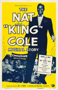 """Movie Posters:Musical, The Nat 'King' Cole Musical Story (Universal International, 1955).One Sheet (27"""" X 41"""").. ..."""