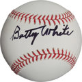 Autographs:Baseballs, Betty White Single Signed Baseball....