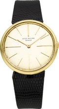Timepieces:Wristwatch, Patek Philippe Ref. 2590 Gent's Wristwatch, circa 1965. ...