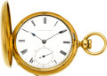 Timepieces:Pocket (pre 1900) , E. Howard & Co. 18k Gold Series III Key Wind, circa 1869. ...