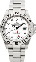 Timepieces:Wristwatch, Rolex Ref. 16570 Steel Explorer II, circa 2003. ...