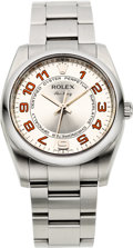 Timepieces:Wristwatch, Rolex Ref. 114200 Gent's Oyster Perpetual Air King, circa 2007. ...