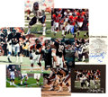 Football Collectibles:Others, 1985 Chicago Bears Super Bowl XX Lot and Signed Photographs etc. ...