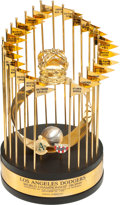 Baseball Collectibles:Others, 1988 Los Angeles Dodgers World Championship Trophy Presented toClubhouse Attendant Dave Wright. ...