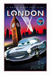 "Cars 2 (Walt Disney Pictures, 2011). Special Promotional Posters (4) (18.5"" X 27""). ... (Total: 4 Items)"