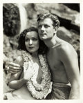 "Movie Posters:Adventure, Dolores Del Rio and Joel McCrea in Bird of Paradise (RKO, 1932). Portrait Photo (8"" X 10"").. ..."