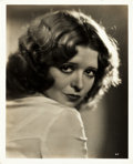 "Movie Posters:Miscellaneous, Clara Bow (Fox Film, 1933). Portrait Photo (8"" X 10""). Miscellaneous.. ..."
