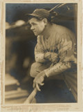 Autographs:Photos, 1932 Babe Ruth Signed George Burke Photograph to Mayor of New YorkCity....