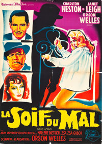 """Touch of Evil (Universal International, 1958). French Affiche (22.25"""" X 31.5"""")"""