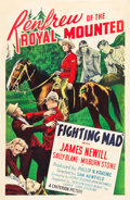 "Movie Posters:Adventure, Fighting Mad (Monogram, 1939). One Sheet (27"" X 41"").. ..."