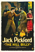 "Movie Posters:Drama, The Hill Billy (Allied Producers and Distributors, 1924). One Sheet (28"" X 41"").. ..."
