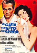 "Movie Posters:Drama, Cat on a Hot Tin Roof (MGM, R-1966). Italian 2 - Foglio (39"" X 55"").. ..."