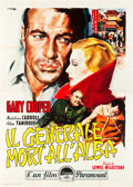 "Movie Posters:Adventure, The General Died at Dawn (Paramount, R-1957). Italian 4 - Foglio(55"" X 78"").. ..."