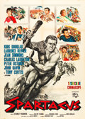 "Movie Posters:Action, Spartacus (Universal International, R-1964). Italian 2 - Foglio(39"" X 55"").. ..."