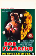 "Movie Posters:Crime, Bob the Gambler (Melior, 1956). Belgian (14"" X 21""). OriginalTitle: Bob le Flambeur.. ..."