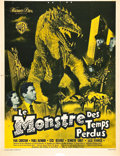 "Movie Posters:Science Fiction, The Beast from 20,000 Fathoms (Warner Brothers, 1953). FrenchAffiche (23"" X 30"").. ..."