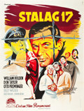 "Movie Posters:War, Stalag 17 (Paramount, 1953). French Grande (47"" X 63"").. ..."