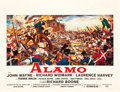 "Movie Posters:Western, The Alamo (United Artists, 1960). Belgian (19.5"" X 25.25"").. ..."