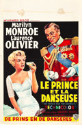 "Movie Posters:Romance, The Prince and the Showgirl (Warner Brothers, 1957). Belgian (14.5""X 22"").. ..."