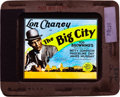 """Movie Posters:Crime, The Big City (MGM, 1928). Glass Slide (3.25"""" X 4"""").. ..."""