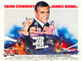 """Movie Posters:James Bond, Never Say Never Again (Warner Brothers, 1983). British Quad (30"""" X40"""").. ..."""