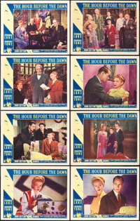 """The Hour Before the Dawn (Paramount, 1944). Lobby Card Set of 8 (11"""" X 14""""). ... (Total: 8 Items)"""