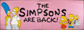 """Movie Posters:Animation, The Simpsons (20th Century Fox, 1990). Banner (50"""" X 140.5""""). Animation.. ..."""