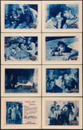 "Movie Posters:Serial, The House of Terror (William M. Pizor, 1928). Lobby Card Set of 8(11"" X 14""). Episode 4 -- ""Out of the Night."" Serial.. ... (Total:8 Items)"