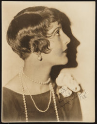 "Patsy Ruth Miller (1920s). Portrait Photo (10.5"" X 13.5""). Miscellaneous"