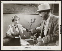 "Psycho (Paramount, 1960). Autographed Photo (8"" X 10""). Hitchcock"