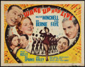 """Movie Posters:Musical, Wake Up and Live (20th Century Fox, 1937). Half Sheet (22"""" X 28"""").Style A. Musical.. ..."""
