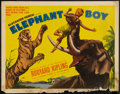 "Movie Posters:Adventure, Elephant Boy (United Artists, 1937). Half Sheet (22"" X 28"").Adventure.. ..."