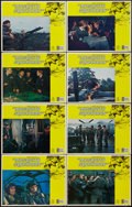 "Movie Posters:War, Mosquito Squadron (United Artists, 1969). Lobby Card Set of 8 (11""X 14""). War.. ... (Total: 8 Items)"