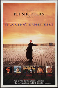 """It Couldn't Happen Here (Movie Visions, 1988). One Sheet (27"""" X 41""""). Rock and Roll"""