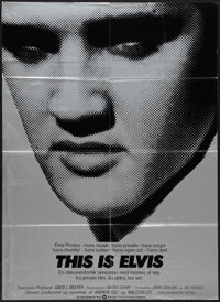 """This Is Elvis and Others Lot (Warner Brothers, 1981). Danish Posters (2) (24"""" X 33"""") and Spanish One Sheet (27..."""