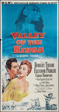"Movie Posters:Adventure, Valley of the Kings & Other Lot (MGM, 1954). Three Sheet (41"" X81"") & One Sheet (27"" X 41""). Adventure.. ... (Total: 2 Items)"