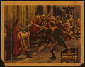 "Movie Posters:Swashbuckler, The Adventures of Robin Hood (Warner Brothers, 1938). Lobby Card(11"" X 14""). Swashbuckler.. ..."