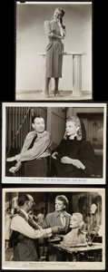 """Movie Posters:Miscellaneous, Ann Sheridan Lot (Various, 1940s-1950s). Portrait Photo by ErnestA. Bachrach (7.5"""" X 9.5"""") & Photos (2) (8"""" X 10""""). Miscell...(Total: 3 Items)"""