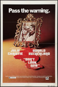 "Movie Posters:Thriller, Don't Look Now (Paramount, 1974). One Sheet (27"" X 41""). Thriller.. ..."