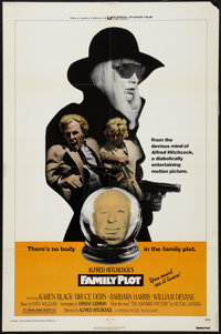"Family Plot (Universal, 1976). One Sheet (27"" X 41""). Hitchcock"