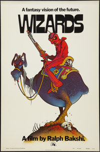 "Wizards (20th Century Fox, 1977). One Sheet (27"" X 41"") Advance. Animation"