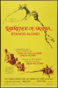 "Movie Posters:Academy Award Winners, Lawrence of Arabia (Columbia, R-1971). One Sheet (27"" X 41"").Academy Award Winners.. ..."