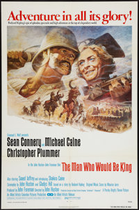 """The Man Who Would Be King (Allied Artists, 1975). One Sheet (27"""" X 41""""). Adventure"""