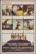 "Movie Posters:War, They Came to Cordura (Columbia, 1959). One Sheet (27"" X 41""). War....."