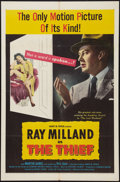 "Movie Posters:Crime, The Thief (United Artists, 1952). One Sheet (27"" X 41""). Crime.. ..."
