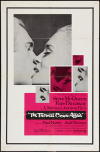 "The Thomas Crown Affair (United Artists, 1968). One Sheet (27"" X 41""). Crime"