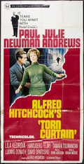 """Movie Posters:Hitchcock, Torn Curtain (Universal, 1966). Three Sheet (41"""" X 81""""). Hitchcock.. ..."""